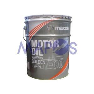 エンジンオイル マツダ ゴールデンECO SN 0W-20 20リットル ガソリン車専用 K020-W0-514E