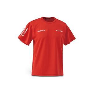 日産コレクション ファッション FAN Tシャツ レッド Lサイズ KWA0060K13RD|marucorp