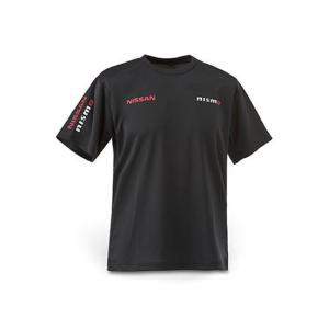 日産コレクション ファッション FAN Tシャツ ブラック LLサイズ KWA0060K14BK|marucorp