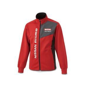 日産コレクション ファッション COMFITトラックトップ レッド Mサイズ KWA0360K32RD|marucorp