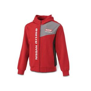 日産コレクション ファッション COMFITパーカー レッド 3Lサイズ KWA0460K09RD|marucorp
