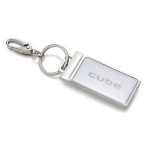 日産コレクション グッズ プレートキーリング CUBE KWA1005H00|marucorp