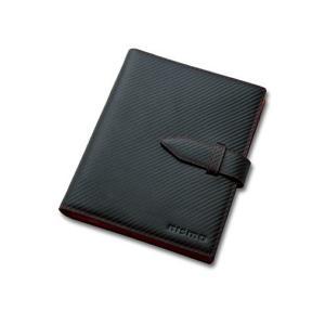 日産コレクション ホビー PREMIUM カーボンレザーシステム手帳 KWA1450H10|marucorp