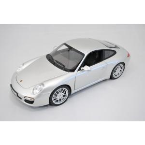 ミニカー モデルカー 1/18 ポルシェ 911カレラ シルバー M-1000-S|marucorp