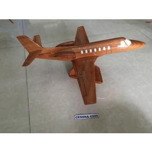 手作り木製模型 飛行機 セスナ C560 PLA-062