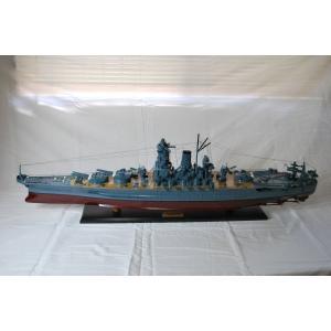 【値下】手作り木製模型 船舶 巨大戦艦大和 SHI-001|marucorp