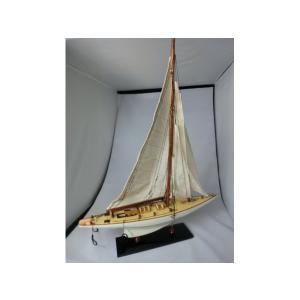 手作り木製模型 船舶 シャムロック 小 50cm SHI-010|marucorp