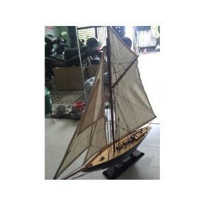手作り木製模型 船舶 PENDUICK 中 70cm SHI-020|marucorp