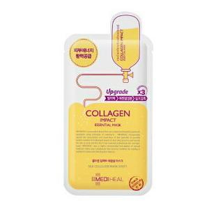 韓国コスメ メディヒール MEDIHEAL コラーゲンインパクト エッセンシャルマスク  1枚|marue-drug