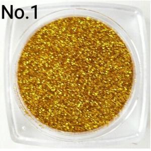 ディープゴールド・濃金   0.15mm角 国産ラメグリッターパウダー No.1|marufu-ys