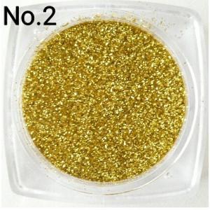 ゴールド  0.15mm角 国産ラメグリッターパウダー No.2|marufu-ys