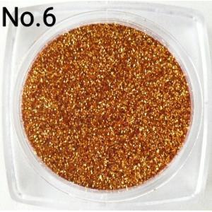 ブラウン  0.15mm角 国産ラメグリッターパウダー No.6|marufu-ys