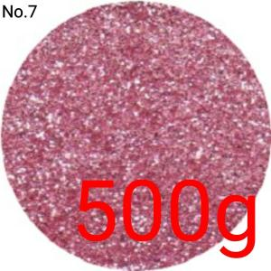 ライトピンク・ウス桃 業務用500gパック 卸売り 国産ラメグリッター No.7|marufu-ys