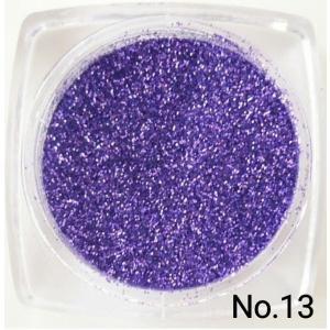ディープパープル・濃青紫 50gパック 0.15mm角 国産ラメグリッターパウダー No.13 marufu-ys