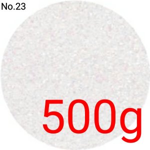 パールホワイト・パール 業務用500gパック 卸売り 国産ラメグリッター No.23|marufu-ys