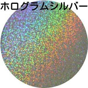 ホログラムシルバー・ホロ銀 30gパック 0.15mm角 国産ラメグリッター No.33|marufu-ys