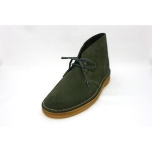 【SALE】CLARKS(クラークス)メンズ 334E ORIGINALS Desert Boot デザートブーツ/ローデングリーンスエード|marufuku-ameyoko