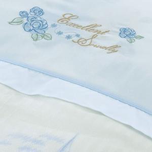 丸八真綿 掛布団カバー ソワリーEXT シングル(S) 刺繍入り高級掛け布団カバー|maruhachi|04