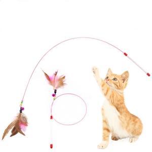 猫じゃらし ねこじゃらし ネコじゃらし 猫おもちゃ 天然鳥羽野ワイヤー鈴付き 猫用品 猫グッズ 猫じ...