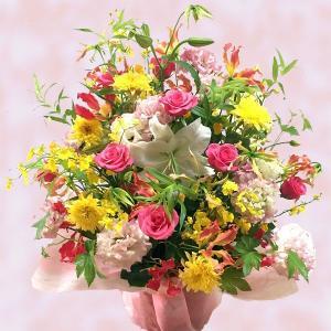 オリジナルフラワーギフトアレンジメント LL【送料無料】生花アレンジメント 花 ギフト maruhana-flower