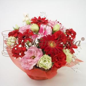オリジナルフラワーギフトアレンジメント S【送料無料】生花アレンジメント 花 ギフト maruhana-flower