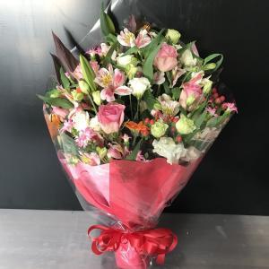 オリジナルフラワーギフト花束LL【送料無料】生花花束 花 ギフト maruhana-flower