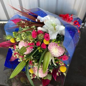オリジナルフラワーギフト花束M【送料無料】生花花束 花 ギフト