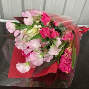 オリジナルフラワーギフト花束S【送料無料】生花花束 花 ギフト maruhana-flower