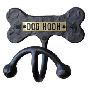 壁付リードフック【ロート・アイアンボーン】W117×D65×H102 おしゃれ インテリア ペット 犬 ドッグ リードロープ掛け|maruhanashop
