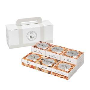 イザメシ IZAMESHI CAN BAG WHITE 缶詰6個入 防災グッズ 防災セット 非常食 保存食 防災用品|maruhanashop