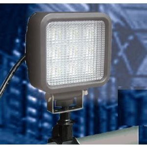 LED投光器 サンダービーム【屋外防雨型】LED-205 ウイングエース LED ワークライト ポータブル投光器 工事現場 maruhanashop