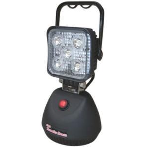充電式 サンダービーム LED-J15 防雨型 充電式LED投光器 ウイングエース LED ワークライト ポータブル投光器 マグネット 車整備 夜釣り 工事現場 maruhanashop