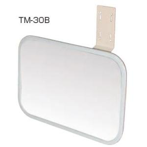 点検ミラー 平面ミラー角300×200(小型)TM-30B 信栄物産|maruhanashop