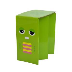 携帯紙椅子 SMART PAPER STOOL SPS-GACHAPIN(ガチャピン)ピカコーポレイション アウトドア チェア レジャー 折りたたみ椅子|maruhanashop
