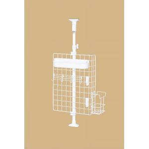 突ぱりキッチンネットラック TOS-8 平安伸銅工業 キッチン 収納 つっぱり ラック 簡単設置|maruhanashop