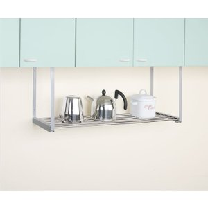 1段ステンレス伸縮吊り棚 TK-5  平安伸銅工業 キッチン 収納 つっぱり ラック 簡単設置|maruhanashop