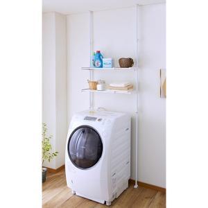 突ぱりランドリーラック L-6 平安伸銅工業 洗濯機 ランドリー 収納|maruhanashop