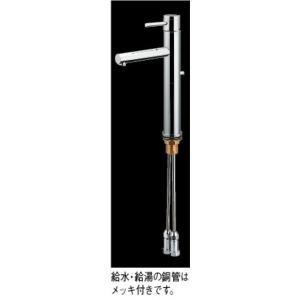 シングルレバー混合栓(トール)183-144 カクダイ maruhanashop 02