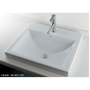 角型洗面器//1ホール 493-003 カクダイ maruhanashop