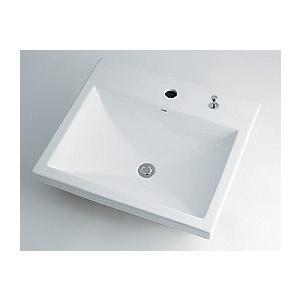 角型洗面器//1ホール・ポップアップ独立つまみタイプ 493-003H カクダイ maruhanashop