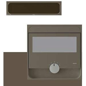 ナスタ Qual クオール 大型郵便物対応 戸建郵便受箱(口金タイプ防滴型)前入後出 KS-MAB2-15LK-BDB Amazonメール便対応|maruhanashop