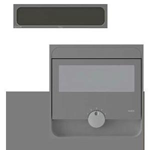 ナスタ Qual クオール 大型郵便物対応 戸建郵便受箱(口金タイプ防滴型)前入後出 KS-MAB2-15LK-DGB Amazonメール便対応|maruhanashop