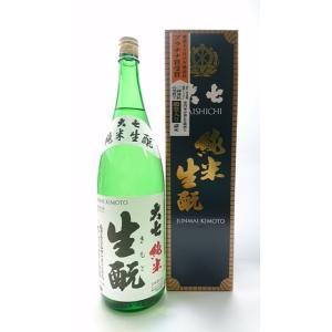 ギフト プレゼント 福島県 大七酒造 大七 純米生もと 1.8L