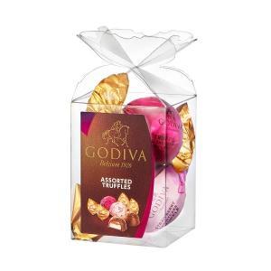 バレンタイン チョコレート 2018年 ゴディバ (GODIVA) ラッピングチョコレート ミルクアソート 2粒入  丸広百貨店