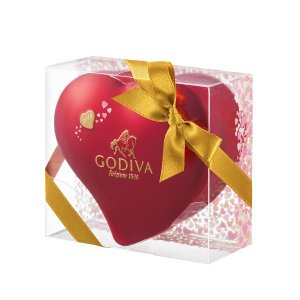 バレンタイン チョコレート 2018 ゴディバ IWC ミニハート缶 5粒入 |丸広百貨店 チョコ|maruhiro
