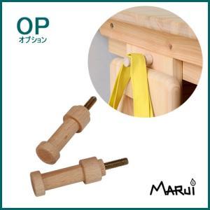デスクフック 2個セット 長さ5cm 天然木製 ヒノキデスク専用 日本製