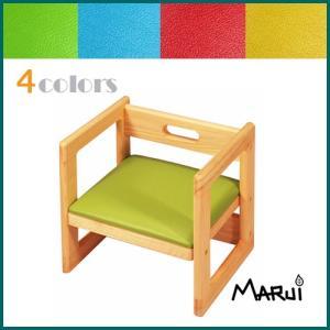 キッズチェア18 イチハチ 国産ヒノキ無垢 オイル塗装 天然木製 子供椅子 日本製|marui-kagu