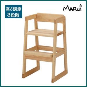 ひのきベビーチェア 国産ヒノキ無垢 天然木製 オイル塗料 キッズ ダイニングチェア 日本製|marui-kagu
