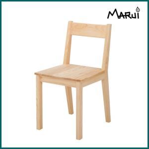 ノキチェア/板座 国産ヒノキ無垢 自然オイル塗料 天然木製 ダイニングチェア 学習椅子 日本製|marui-kagu