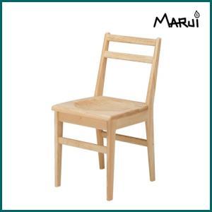 ライトチェア/板座 国産ヒノキ無垢 自然オイル塗料 天然木製 ダイニングチェア 学習椅子 日本製|marui-kagu